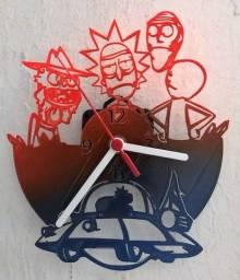 Relógio De Parede Rick And Morty