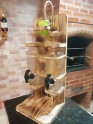 Pingometros de madeira