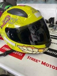 Título do anúncio: Capacete motosky two chãos tam 58 60 62 entrega todo Rio