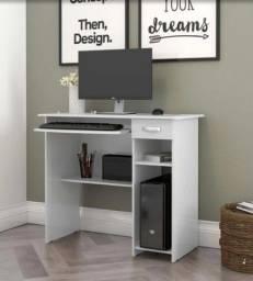 Título do anúncio: Mesa de Computador com 1 Gaveta - Frete Grátis
