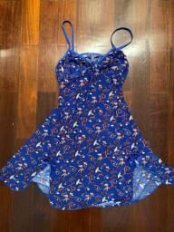 Camisola Baby Doll Azul - Tamanho P
