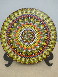 Mandala em Pontilhismo