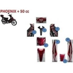 Carenagem Shineray Phoenix + 50cc c/paralama vermelha original
