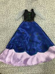 Título do anúncio: Vestido da Ana de Frozen