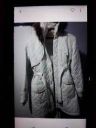 Título do anúncio: Jaqueta nylon branca