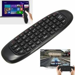 Air Mouse E Teclado Wireless Controle Remoto Smart Tv Pc Tv Box - Loja Natan Abreu