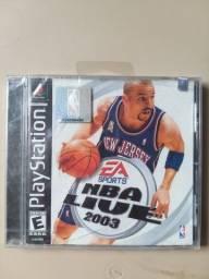 NBA Live 2003 ORIGINAL e LACRADO (PS1)