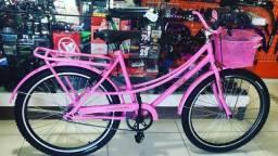Título do anúncio: Bicicleta aro 26 New Bike Retrô somos loja