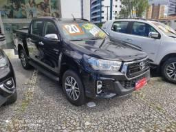 Toyota Hilux srv 2020 flex 4x4 com apenas 4.900 km