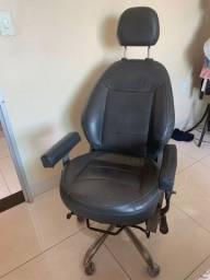 Cadeira gamer feita de banco de carro