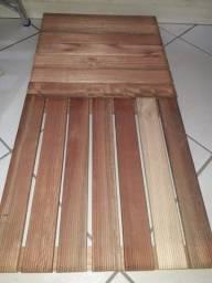 deck 50x50 canelado eucalipto