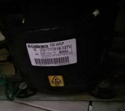 Motor de Geladeira Embraco - EGAS 80CLP 115-127V 60Hz