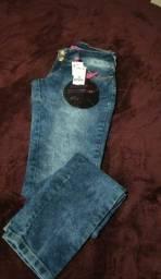 Calça jeans Pink Moon n° 38