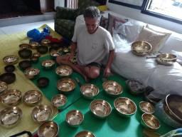 Tigelas meditação