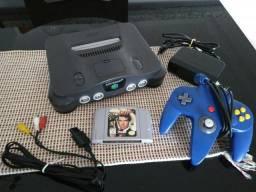 Nintendo 64 + 007 Goldeneye (jogo) comprar usado  Goiânia