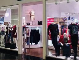 Loja de roupas em Shopping de Goiânia