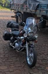 Vendo ou troco duas motos, uma virago 250 e uma cbr 500 - 2000
