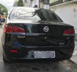 Siena 1.4 com kit gás LEGALIZADO 12/13 - 2012