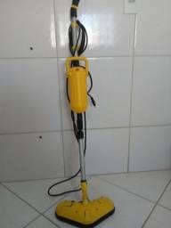 Vassoura à vapor - funciona só com água