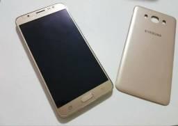 Samsung Galaxy J7 Metal Dourado - Aceito cartão
