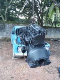 Motor perkins 4 cilindros diesel - 1982