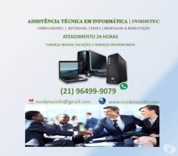 Suporte em informática para Notebooks e Pcs - em domicilio e empresa