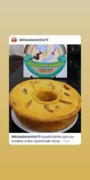 Bolos caseiros e bolos de aniversário por encomenda