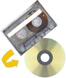 Conversão de VHS p/ DVD