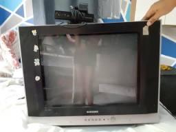 TV Samsung 20 com conversor