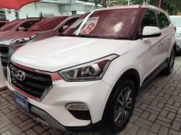 Hyundai Creta 2.0AT Prestige - Garantia de Fábrica - Bancos em Couro e Multimídia