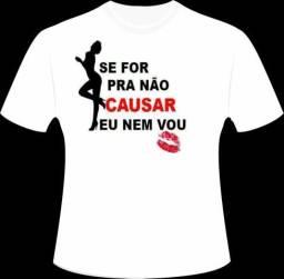 Camisetas personalizadas- Peça a sua!