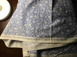 Tecido Laura Ashley de algodão para cortina