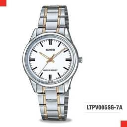 Relógio Casio modelo LTPV005SG-7ª - Mod. 09 - 100%