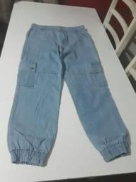Desapegando! calça mom jeans tamanho 44, nova!