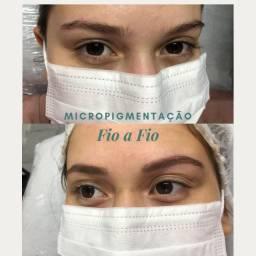 Micropigmentação fio a fio efeito natural