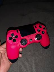 Controle Joystick Sem Fio Sony Dualshock 4 Red (usado)