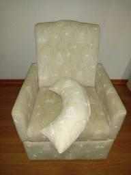 Cadeira de amamentaçao com almofada