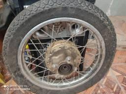 2 Rodas Honda Biz completas com pneus