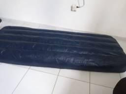 Colchão inflável solteiro sem bomba