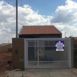 Casa com 2 dormitórios à venda, 47 m² por R$ 155.000,00 - Jardim Flamingo - Marília/SP