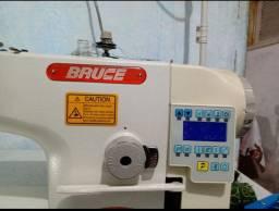 Maquina costura bruce reta eletronica