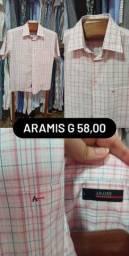 Camisa ARAMIS Tam g manga curta