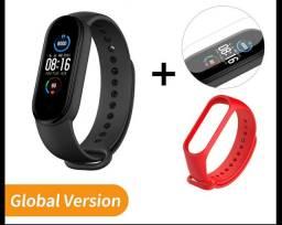 Xiaomi Mi Band 5 global Original + película e pulseira colorida