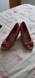 Sapato feminino tamanho 34