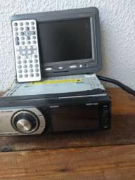 Rádio dvd com tela tv