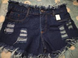 2 shorts jeans novos