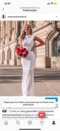Vestido longo casamento civil noivas prévia fotos