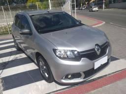 Renault Sandero Vibe 1.0 2017/2018 C/ 47 Mil Km Rodados e Mídia Nave câmera de ré
