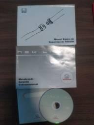 Manual do Proprietário New Civic ano 2006 a 2011