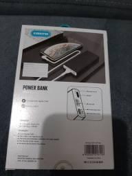 Vendo carregador portátil de celular